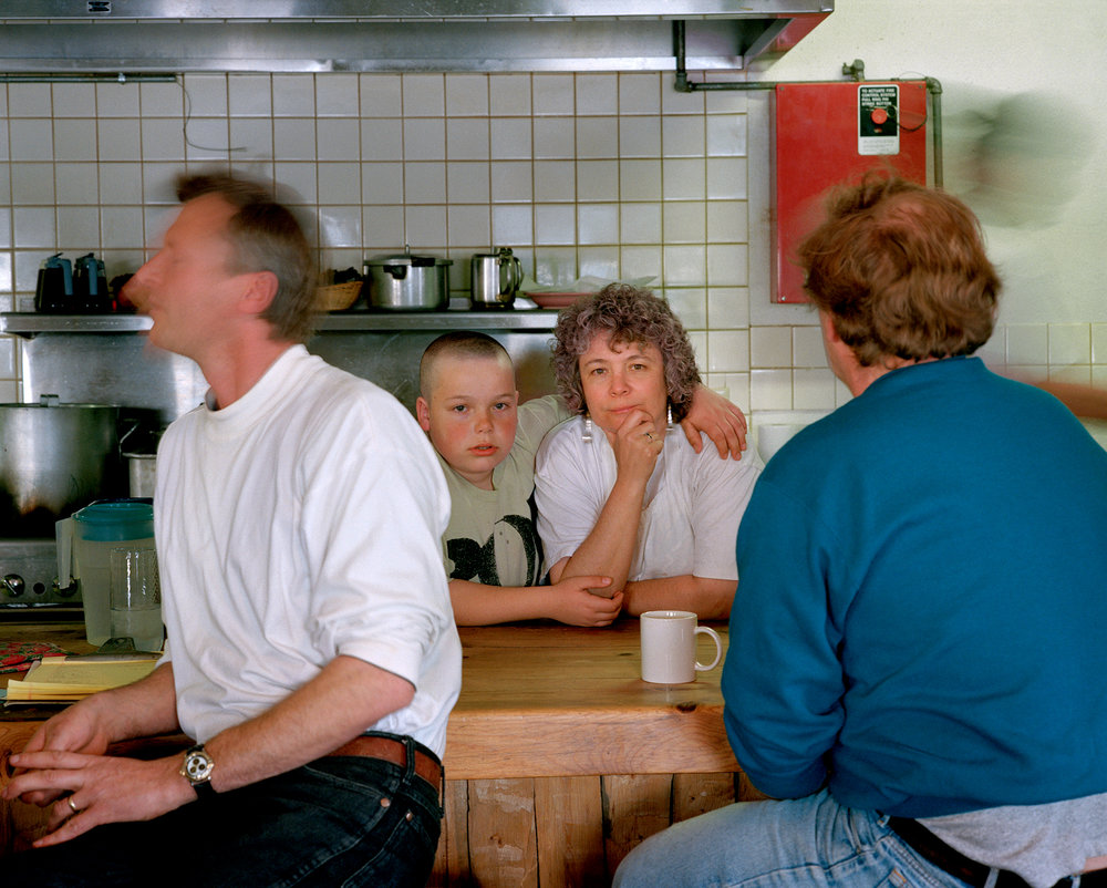 Mother/son at her diner, New Mexico, from Politics, 1995