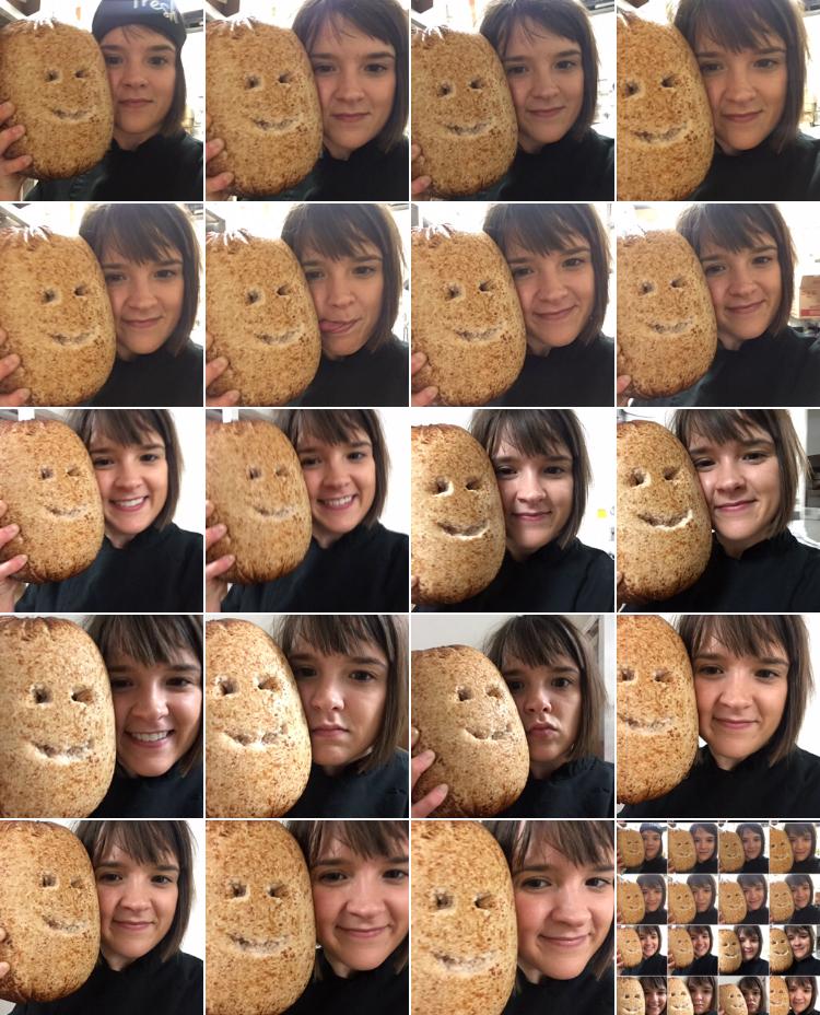 The ORigin of Us  iPhone selfies December 23, 2016 Ella Weber