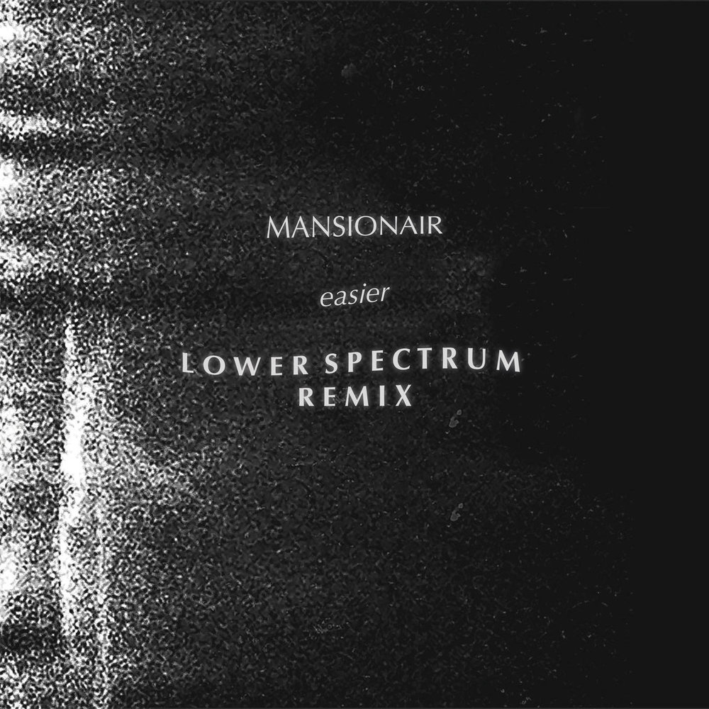 Re-Writing, Mixing + Production  'Easier' (Remix)  - LOWER SPECTRUM + Mansionair   LISTEN