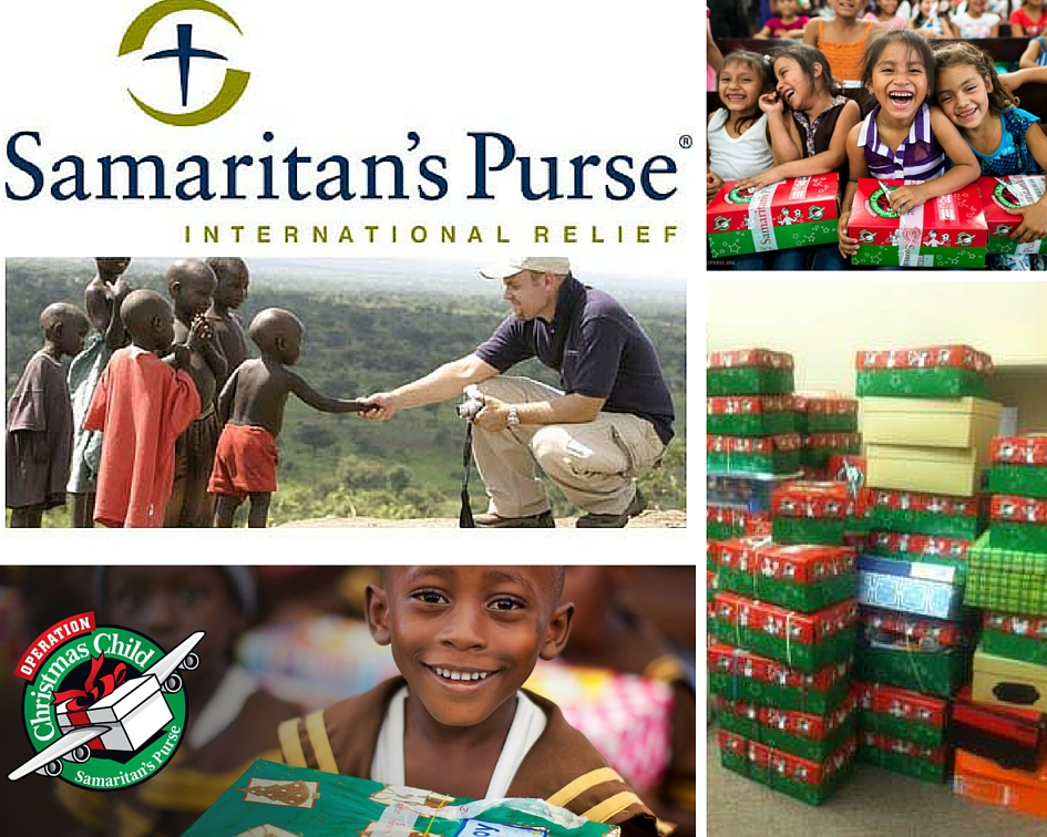 Operation Christmas Child , a project of Samaritan's Purse, provides gifts and hope to over 10 million children annually. We are proud to participate each year along with over 500,000 volunteers worldwide.  samaritanspurse.org