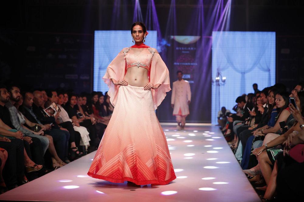 Designer Nivedita Saboo's Grand Finale