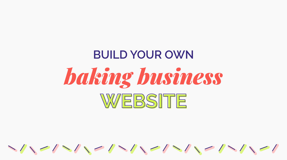 $49/£38 - Once you've mastered the basics in the free course (above), or you just want to dive right in, this course will walk you through every step of building your very own cake business website. This DIY approach will save you money and give you the skills to maintain your website in the future.