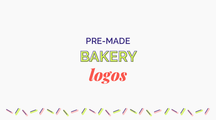 $19/£15 - Chose from a beautifully designed selection of bakery logos that can be customised to include your business name and brand colours.A simple and quick way to get your baking business branding on point!