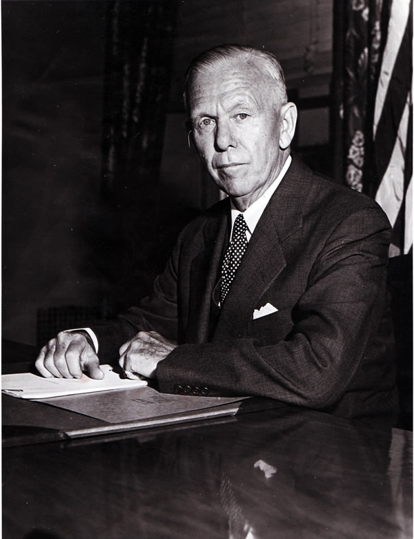 George C. Marshall, 1880-1959.  National Archives
