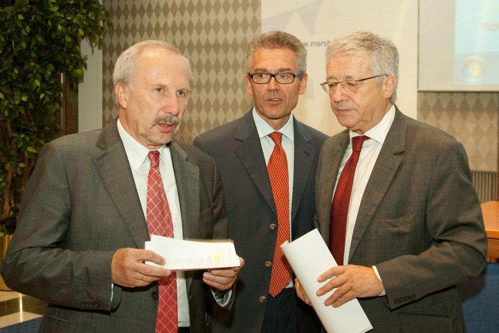 Ewald Nowotny, Anton Fink, Wolfgang Petritsch