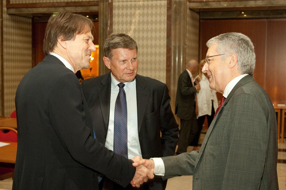 Rolf Alter, Leszek Balcerowicz, Wolfgang Petritsch
