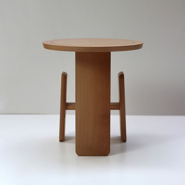 This angle captures the form quite nicely.  #beech #sidetable #bespokefurniture #craft