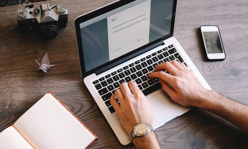 Blogging WordPress site