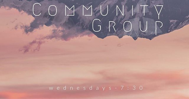 Community Group tonooiigghtt @ 7:30 — Message us for the address 🏘🇺🇸