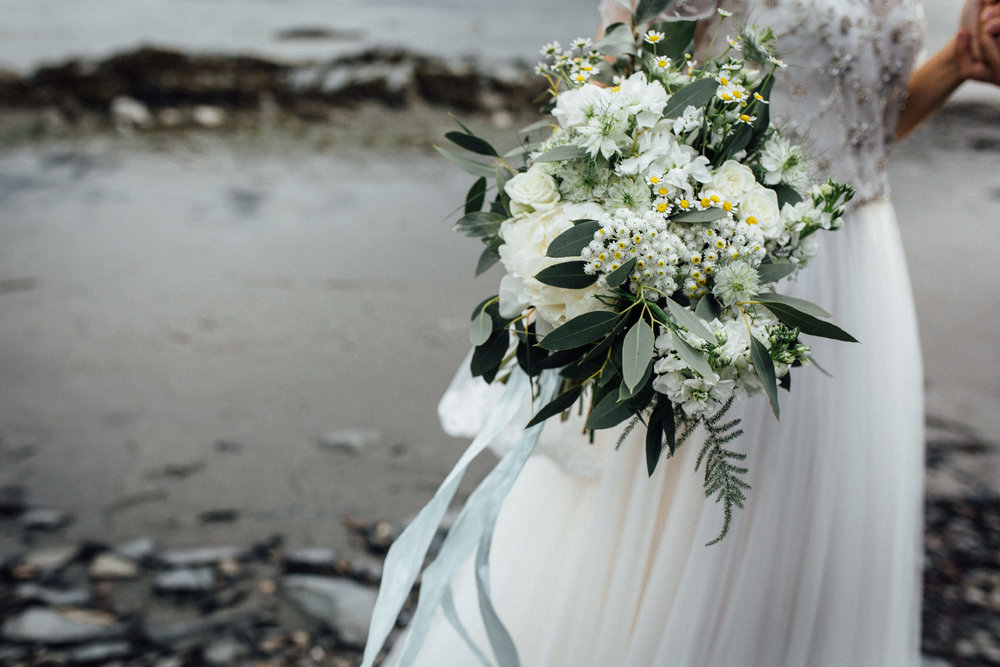 Bloomsbury Blooms bridal bouquet