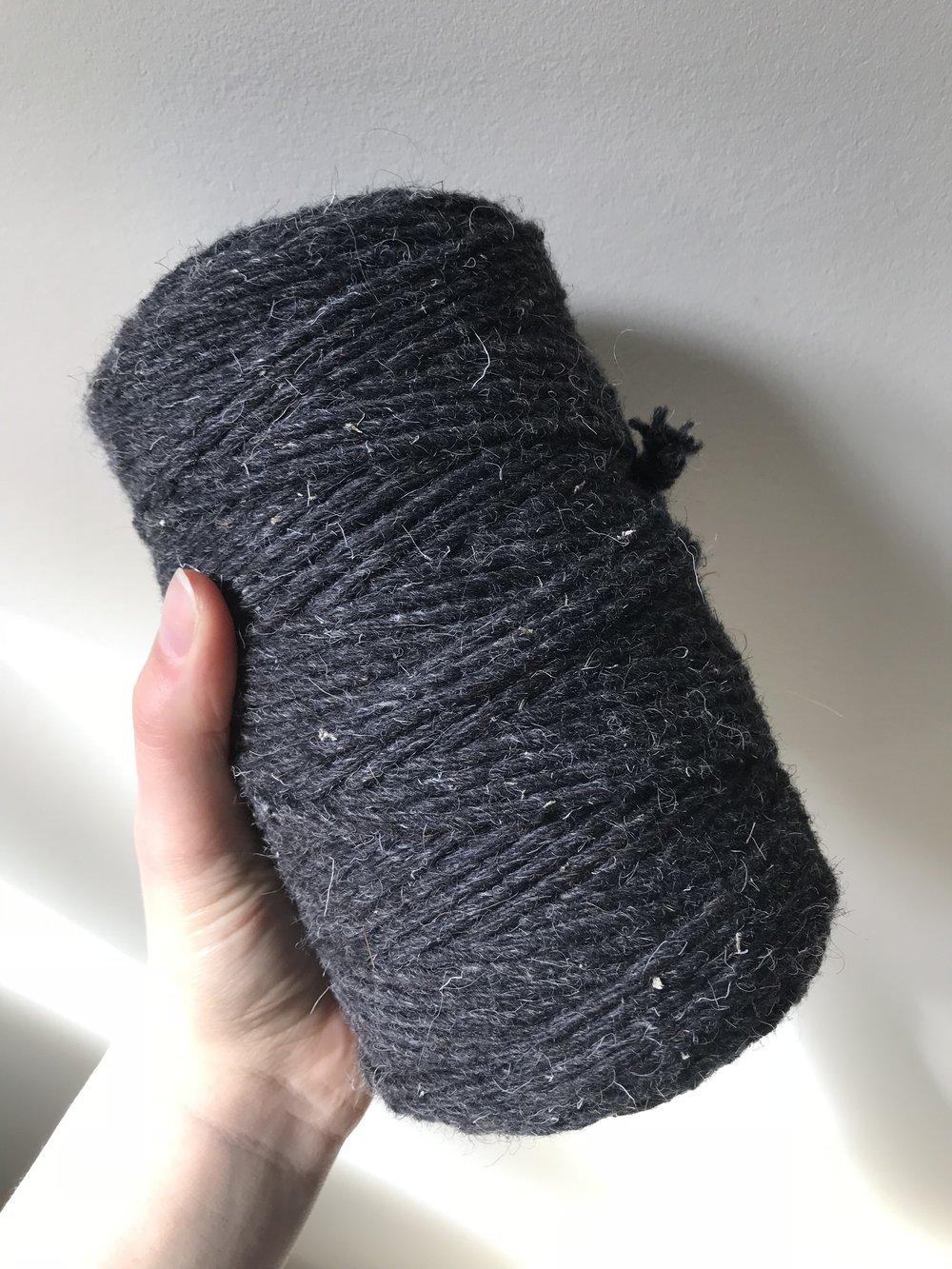Rug yarn (wool blend)
