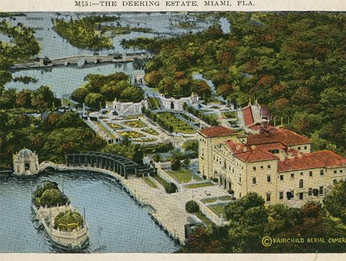 Postcard, ca. 1935 -vizcaya.org
