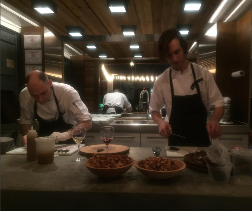 Chef Michael Finizia & Frederik Berselius