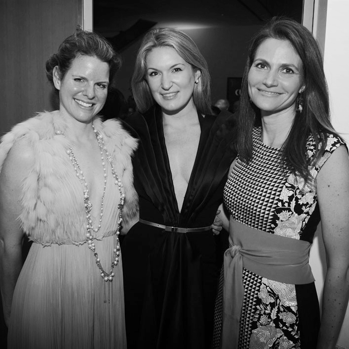 Ilona Oppenheim, Sarah Arison, Lisa Akin