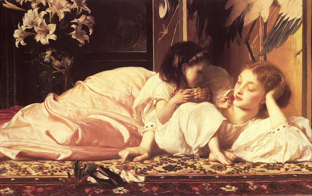 """Mother and Child"" by Lord Frederick Leighton - 1965"