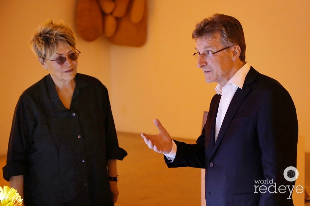 Mera Rubell & Michel Parmigiani