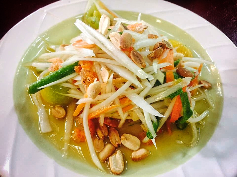 Papaya Salad - Chiangmai (Northern Thailand)