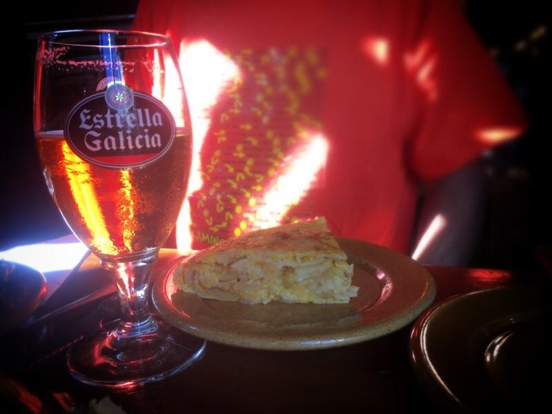 Tortilla & Galician Beer