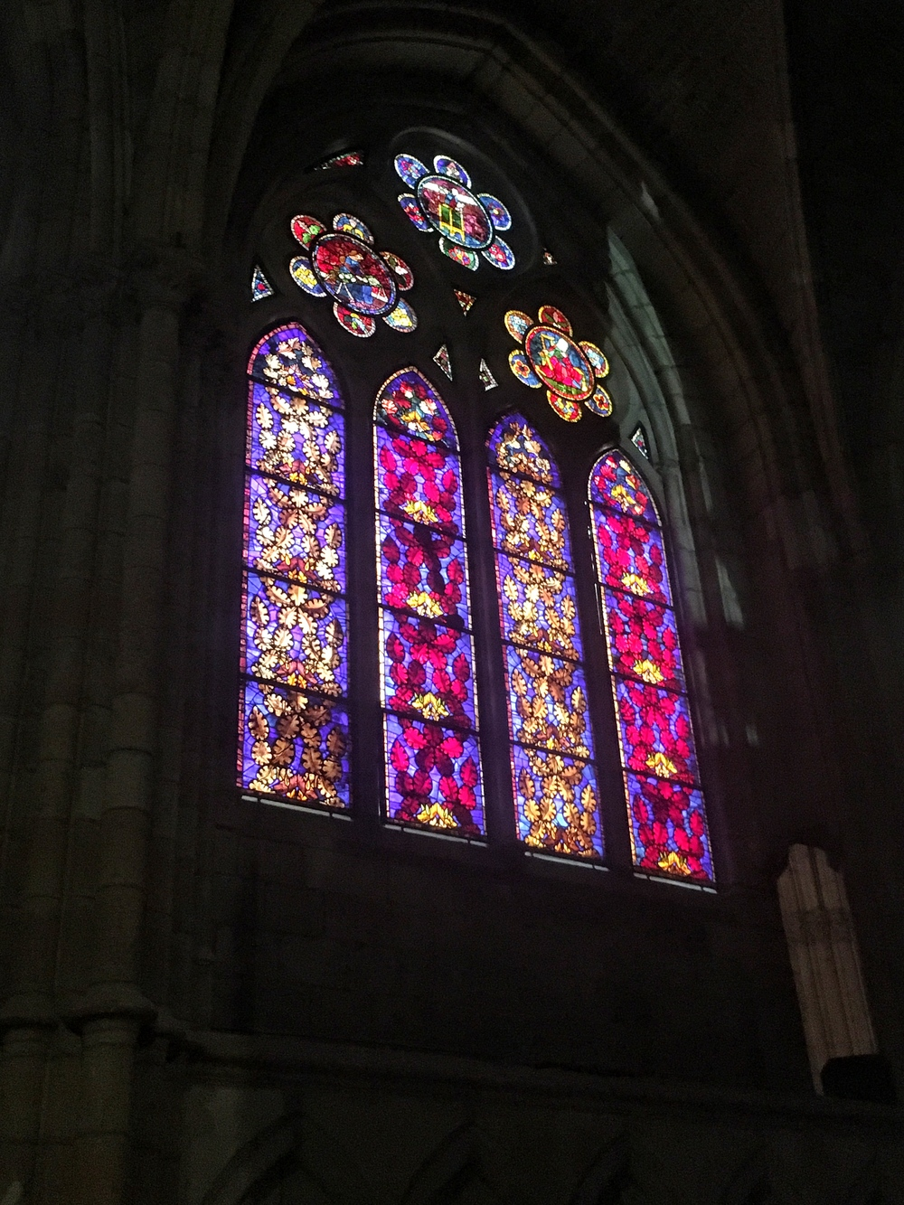 Spanish Cathedral Stained Glass