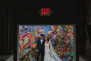 An Urban Chic Wedding At MAPS BACKLOT