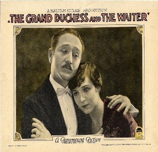 Olympia's First Film - 1926