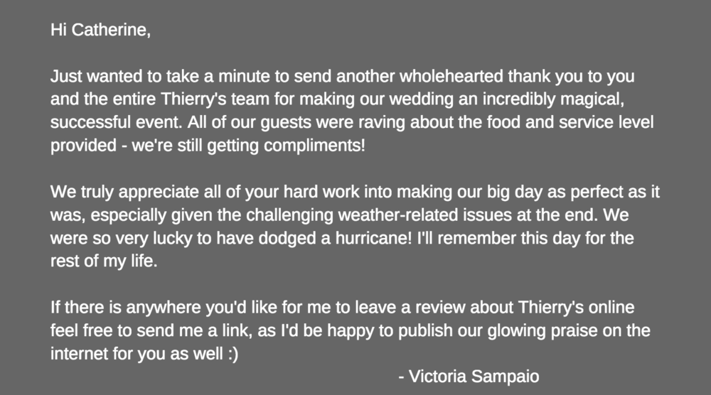Thank you, Victoria :-)