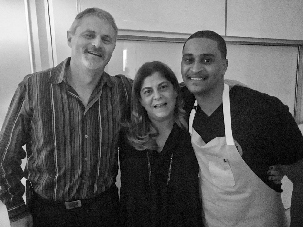 "Thierry & Alina Isambert | Chef Joe ""JJ"" Johnson"