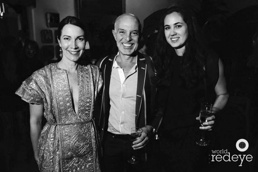 Adrienne Bon Haes; Rene & Nina Gonzalez