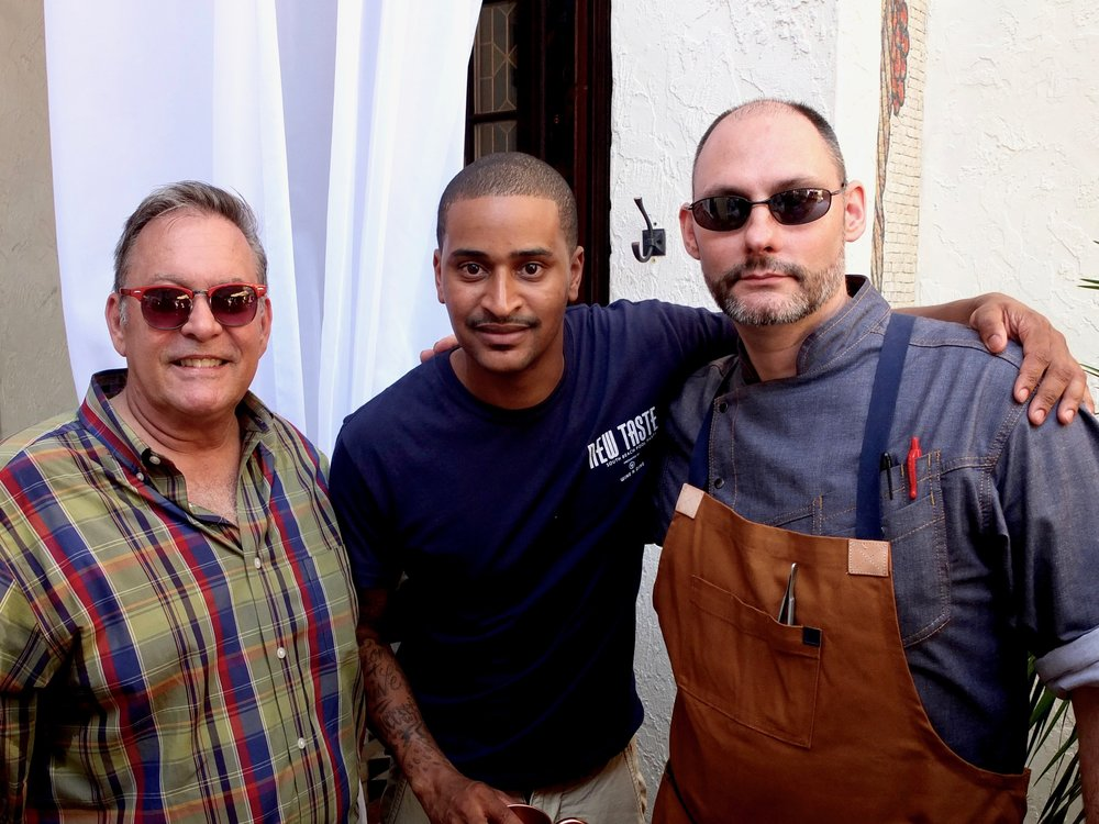 David Johnson, Chef JJ, Michael Finizia