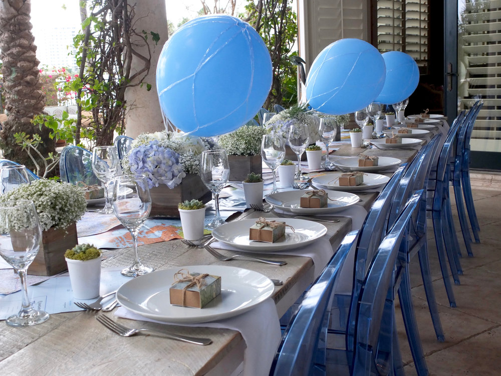 Its A Boy Celebrating Baby With A Beautiful Travel Themed Brunch
