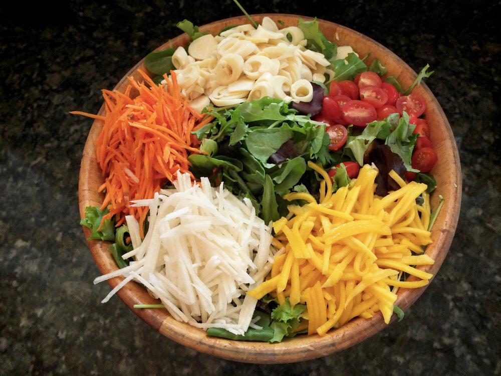 Crunchy Florida Salad