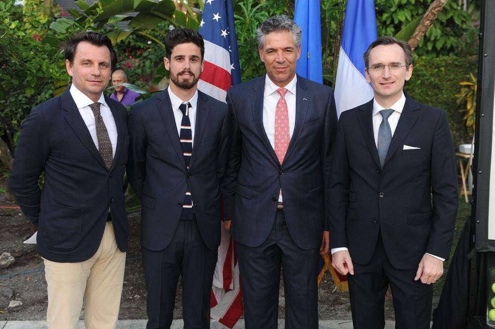 Stephane Deneef, Lucas Dubourg, Fabrizio Alcobe Fierro, & Clément Leclerc