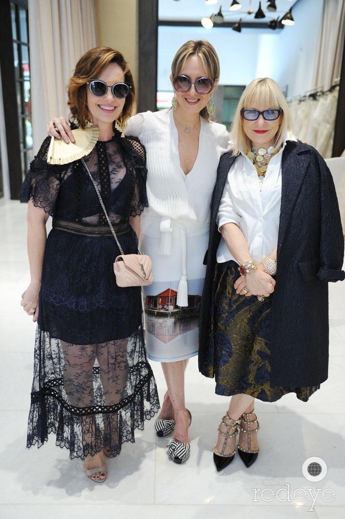 Ana Hughes; Silvia Tcherassi & Elysze Held