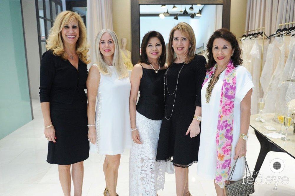 Eliana Chamorro; Carmen Velazquez, Elvira Pupo, Eugenia Legorburu, & Mayra G. Betancourt