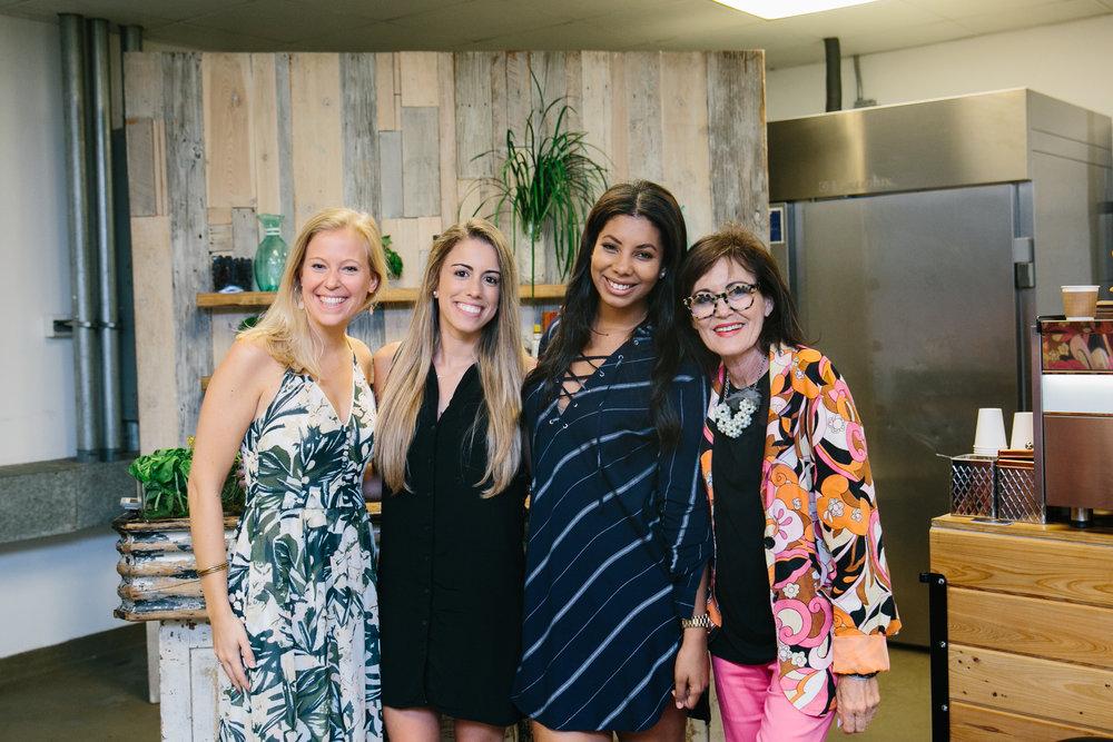 Team T.I. - Maud; Catalina; Yen & Caron Cole