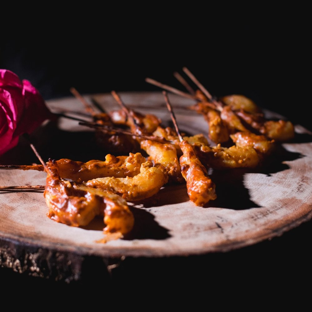 Pickle Prawns - Indian Five Spice