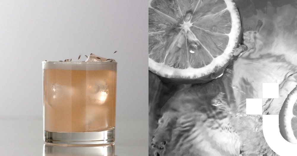 Provencal Sour  - The Provencal Sour is a fine Spring cocktail and quite easy to make yourself! Click here to learn how to make a libation with the sweet, fragrant taste of spring and a kick of bourbon!