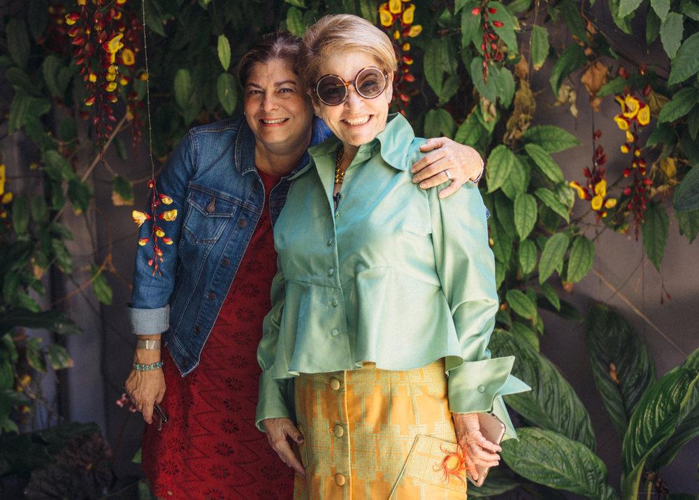 Alina Isambert & Bernice Steinbaum