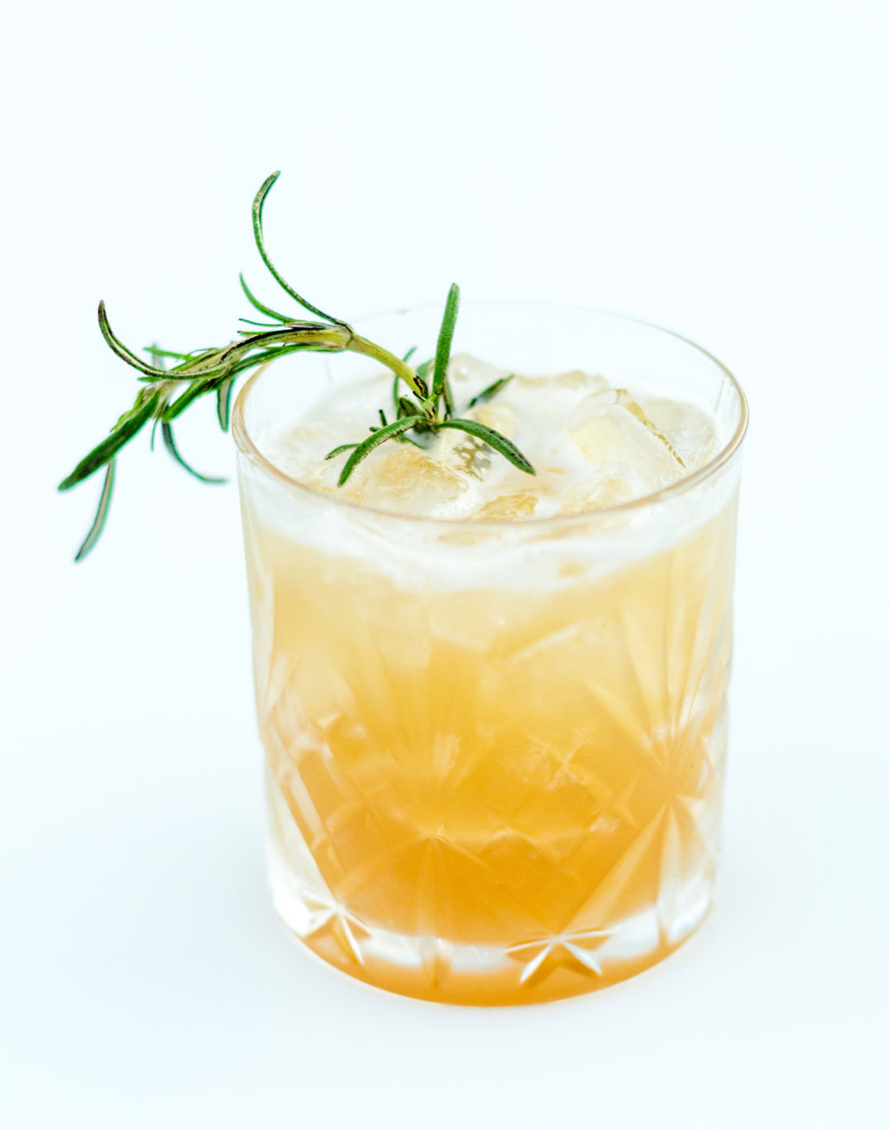 Libations by Thierry Isambert - Smoking Rosemary & Maple [Macallan Scotch Whisky, Maple Simple Syrup, Lemon, Burning Rosemary]