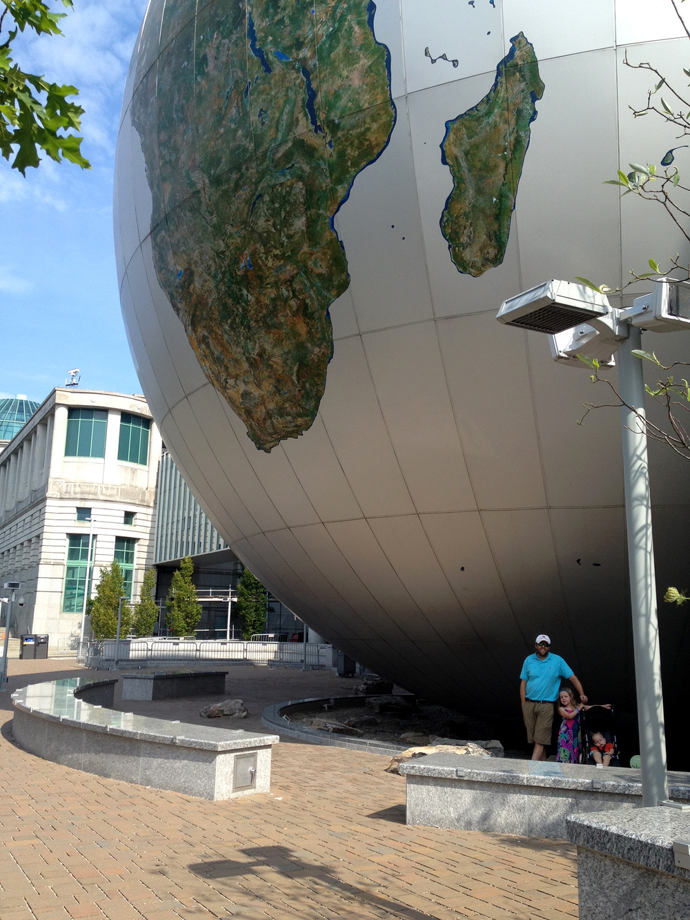 While in Raleigh, we visited the North Carolina Museum of Natural Sciences.