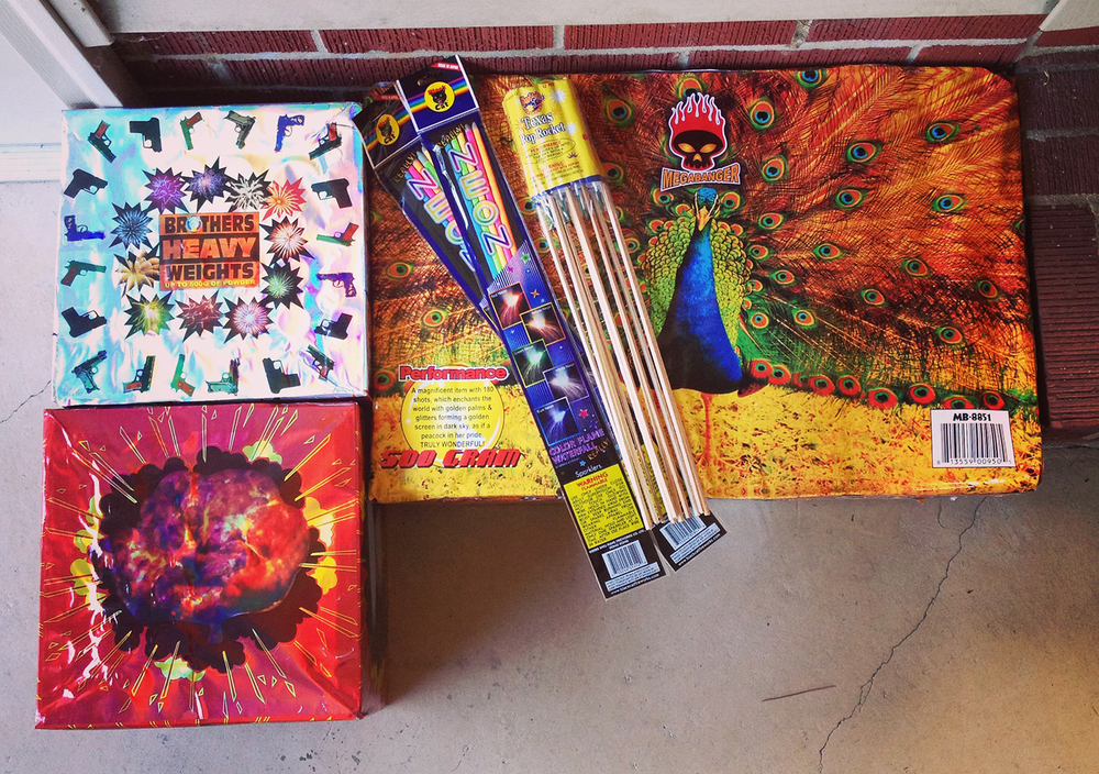 I'm going to miss buying fireworks. We might have to make SC an annual Independence Day tradition.