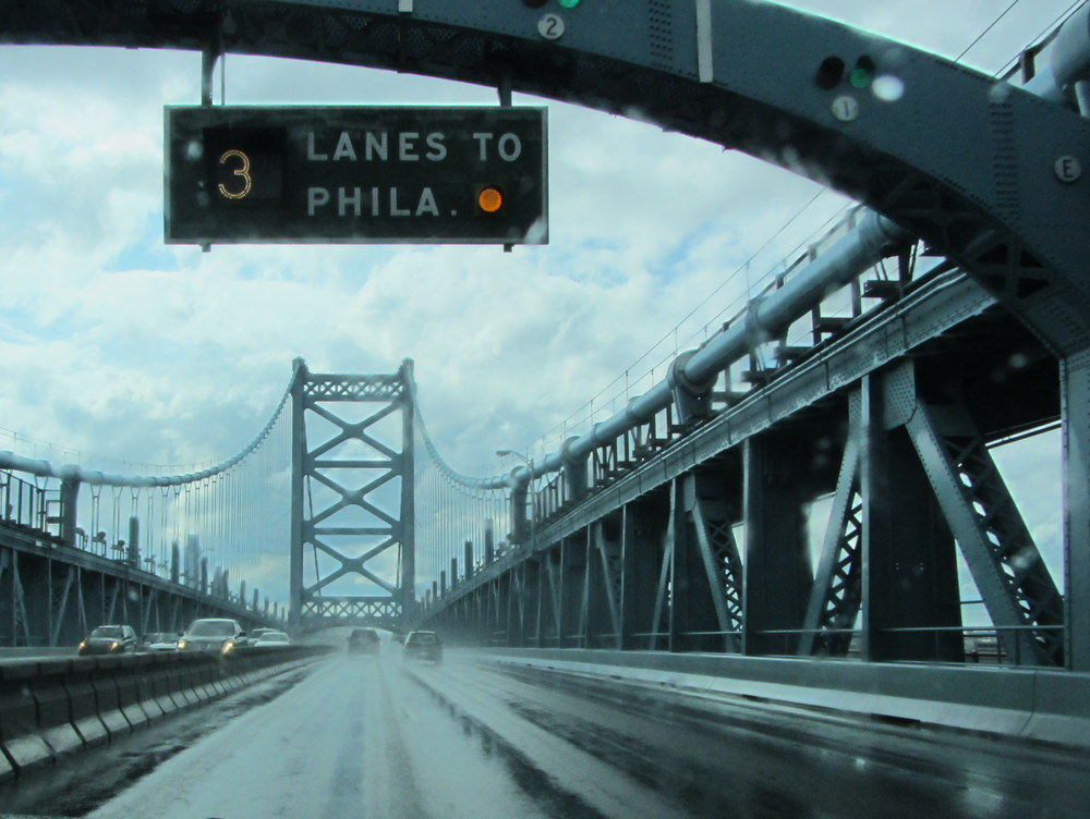 3 lanes to Philadephia