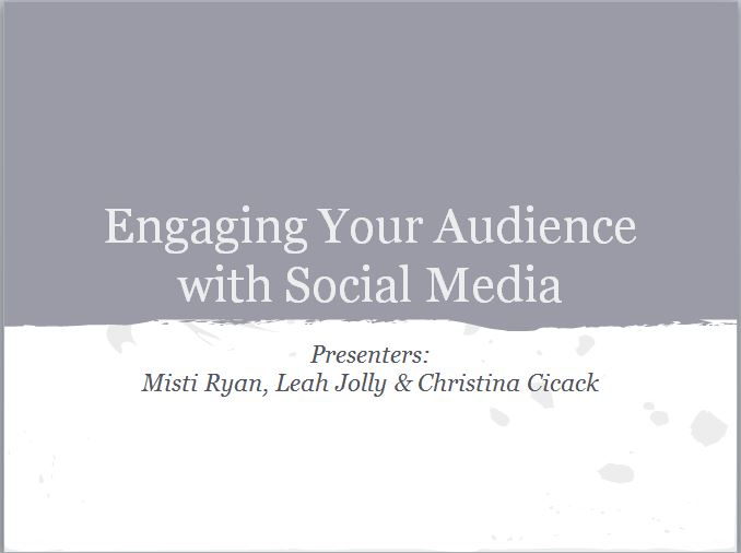Engaging Your Audience with Social Media