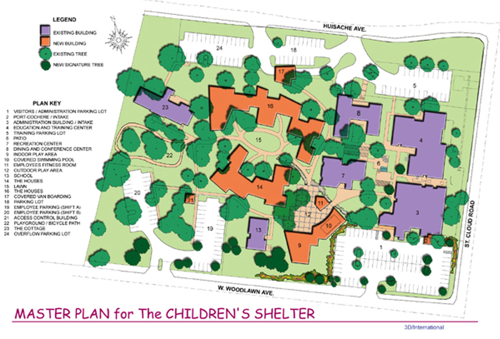 San Antonio Children's Shelter Master Plan