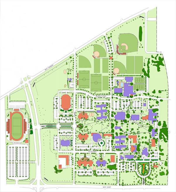 Texas Lutheran University Master Plan