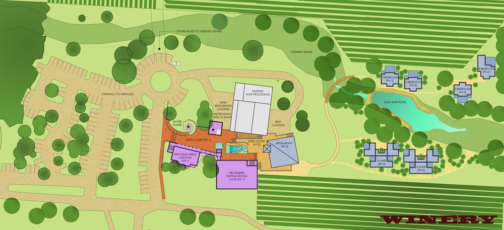 Triple L Winery Master Plan