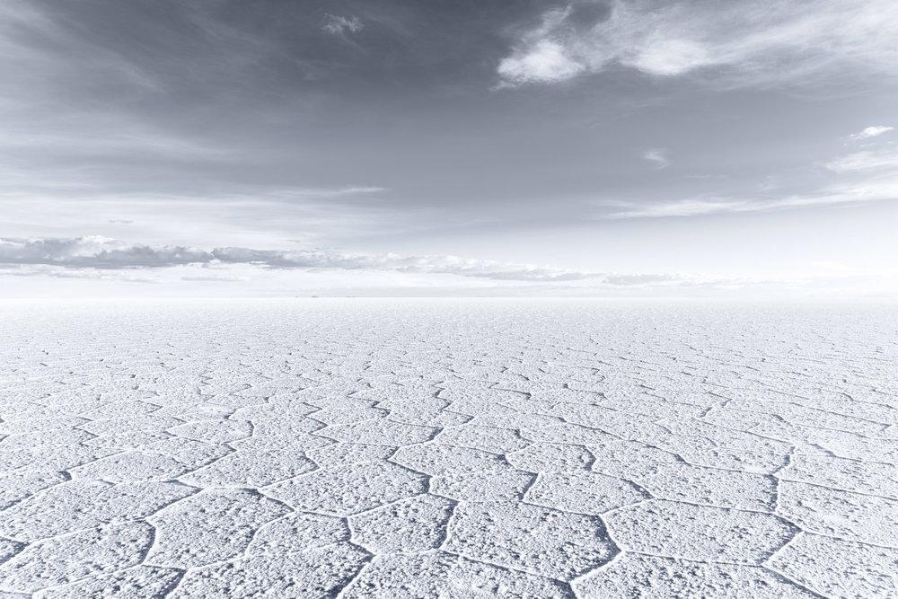 """Hexagonal Flat"", Bolivia"