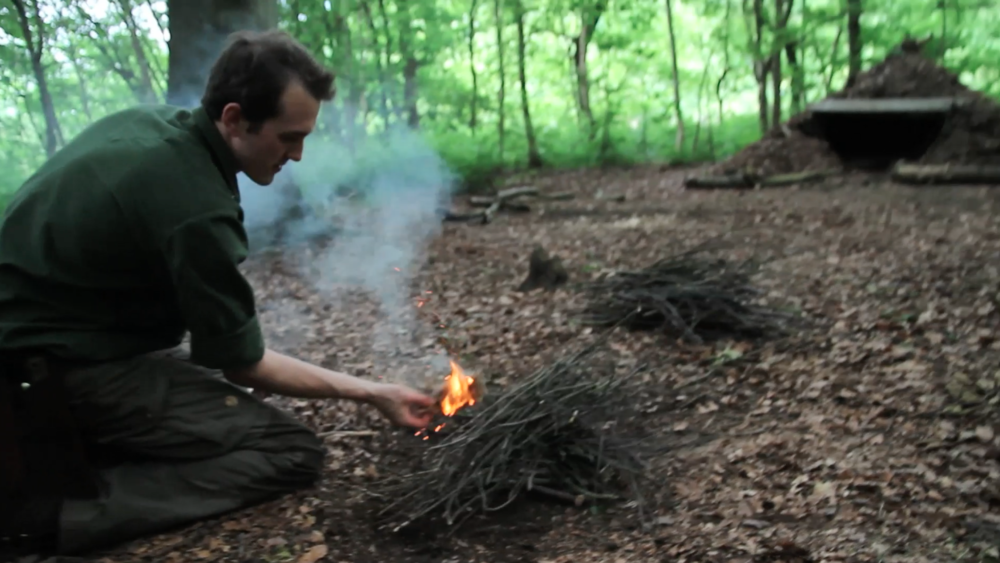 bushcraft fire course