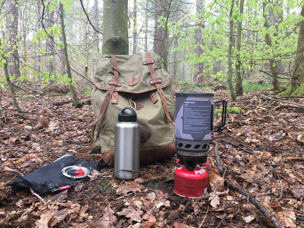 You might also consider a flask for hot drinks at this time of year, I've found those made by Klean Kanteen to be excellent and well worth the expense. And a small stove, such as a Brewkit by Alpkit, is often an addition to by kit.