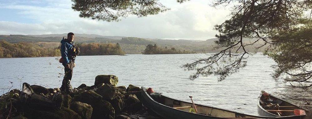 bushcraft canoe expedition